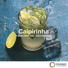 Der #Caipirinha stammt aus #Brasilien. #Getränk #Drink