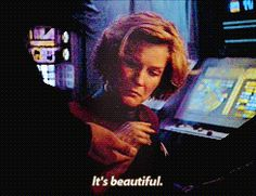 Chakotay gives Janeway the pocket watch for her birthday. Year of Hell