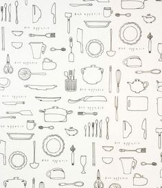 O-CHECK Wrapping Paper. Kitchen