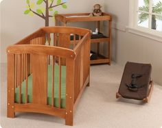 The Mindful Home-- The Complete Guide to Non-Toxic, Eco Friendly Baby Gear Crib Mattress, Cot, Stylish Beds, Baby Furniture, Baby Registry, Baby Gear, Baby Room, Baby Items, Teak