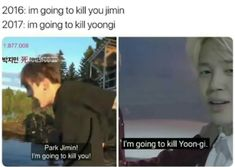 yoonmin shows their love for each other in strange ways