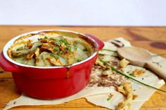 <p>That perfect steaming comfort food potato dish just like you always remembered. A little creamy, hearty and completely vegan!</p>
