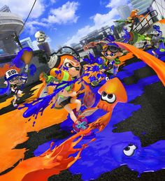 BREAKING NEWS! I know I've said it before, but seriously you guys. Seriously. SERIOUSLY! This is some BREAKING. FREAKING. NEWS. Splatoon will be released on May 29th! THIS IS NOT A JOKE. BOOYAH, BABY! That's less than two months away! #Inkling