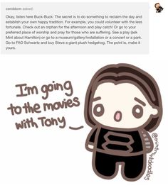 The fact that the artist made Bucky choose to go do something on Dec 16th with TONY gets to me...