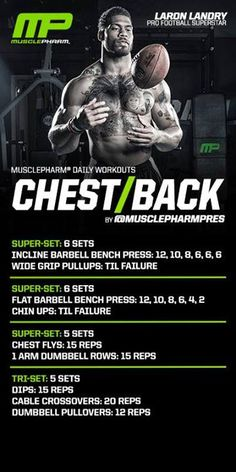 Chest/back