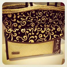 Para lo días en lo que necesitas Glamour... #capazo, #clutch, #panier, #baskets