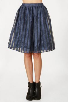 Blue Fusion Skirt