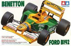 1/20 Tamiya Benetton Ford B192; Schumacher / Brundle