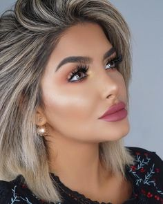 Likes, 85 Comments - Blonde Hair Blue Eyes Makeup, Golden Blonde Hair, Brown Blonde Hair, Hair Makeup, Hair Color For Women, Hair Color And Cut, Cool Hair Color, Makeup For Blondes, Fancy Hairstyles