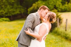 Whimsical Family Farm Wedding - Bride & Groom Portraits - Baltimore, Maryland - Brooke Michelle Photography