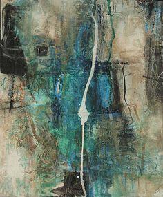 Abstrakte Malerei - abstrakte Kunst - abstrakte Bilder - abstrakte Gemaelde von Iris Rickart in Iris' kleine Galerie  - Abstrakt 17