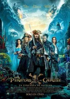 Poster internazionale per Pirati dei Caraibi: La vendetta di Salazar.