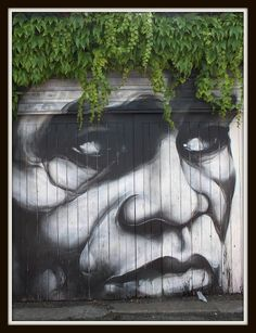 aka RMER, street art, face, powerful, graffitti, photo