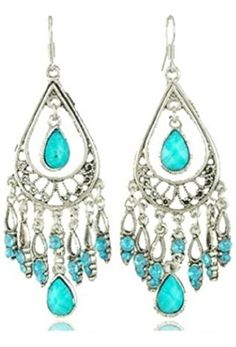 Dazzle Flash Vintage Retro Style Tassels Dangle Earring,Fashion Boho Earrings,EAG080