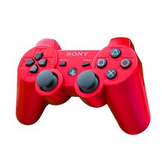 red ps3 controller - Google Search