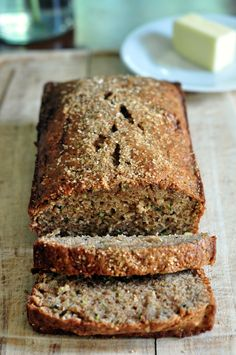 Zucchini Bread (with Whole Wheat Flour and Applesauce) - This was very good, made two, a little sweet wouldn't use as much sugar next time.