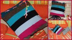 Мастер-класс по шитью для дома: Подушка-подружка или декоративная наволочка из чего попало