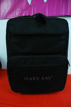 Mary Kay Cosmetic Insulated Wheeled Case