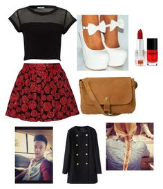 """""""Night changes with Cameron Dallas"""" by leila-hussain ❤ liked on Polyvore featuring Alice + Olivia, Fat Face and Napoleon Perdis"""