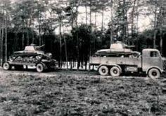 Škoda 6K. Rychlost 45 km/h, dojezd 300 km, nosnost 11000 kg. Motor 1x Škoda 6K, zážehový a kapalinovou chlazený šestiválec objem 12 920 cm3.