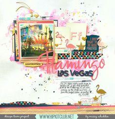 Flamingo+*Hip+Kit+Club* - Scrapbook.com
