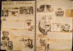 Image result for gcse art sketchbook presentation ideas