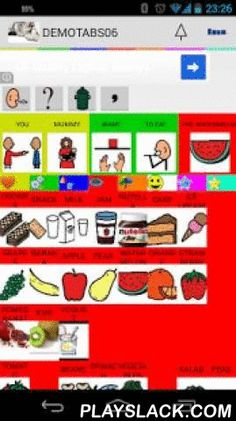 Aac Talking Tabs  Android App - playslack.com ,  Aac Talking Tabs is a simple augmentative and alternative communication (AAC) device. It can be used for anyone with speech disorder, mostly children but useful for anyone that has this kind of problem.Included with the application now you can use 9000+ ARASAAC images in Italian, English, German, French, Spanish and Portuguese to build your tables and book.Arasaac Symbols LicensePictographic symbols used are a property of…