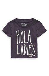 Prefresh 'Hola Ladies' Graphic T-Shirt (Baby Boys)