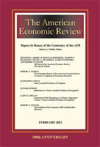 American Economic Review cover