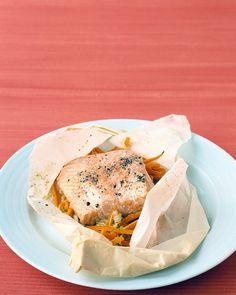 Salmon in Parchment - Martha Stewart Recipes