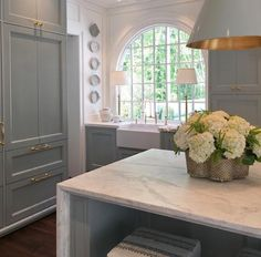 Stunning kitchen by  Lauren DeLoach  and Matthew Quinn    Not one, not two, but four  stellar show homes opened this past week! If you ...