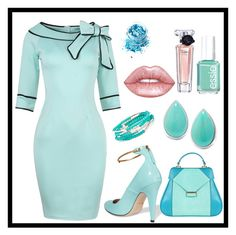 """""""Untitled #576"""" by domla ❤ liked on Polyvore featuring Gucci, Aevha London, Chrysalis, Essie, Lime Crime, Lancôme and In Your Dreams"""