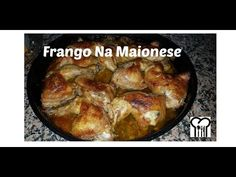 Frango Ao Forno Com Maionese #deliciasdadenny - YouTube French Toast, Meat, Chicken, Chester, Breakfast, Food, Youtube, Chicken Drumsticks Oven, Baked Chicken Legs