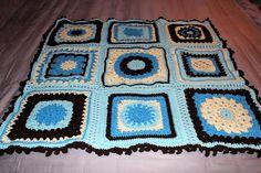 Baby Afghan - Blanket - Free Crochet Pattern: Harris Sisters GirlTalk: Ooh, Baby, Baby