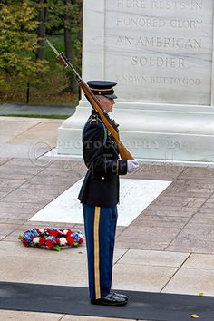 """Tomb of the Unknowns Guard"" This is a copyright photo. If you wish to purchase this photo or any other of my fine art prints, please visit my website at; www.jerryfornarotto.artistwebsites.com"