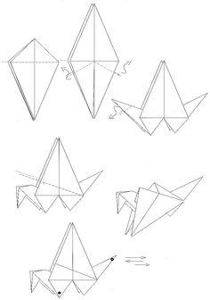 etapes du pliage origami d 39 une feuille d 39 arbre le pliage pliage et croquis. Black Bedroom Furniture Sets. Home Design Ideas