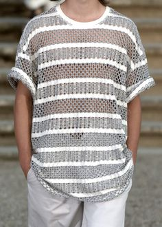 knitwear details, spring summer 2006, raf simons