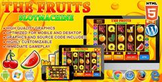 Buy Slot Machine The Fruits - Casino Game by codethislab on CodeCanyon. Slot Machine – The Fruits is a casino game. Enjoy this coloured slot machine with classic fruit symbols! Peter O'toole, Jack O'connell, Casino Royale, Las Vegas, Game Design, Arcade Games, Party Vintage, Party Poker, Game Mobile