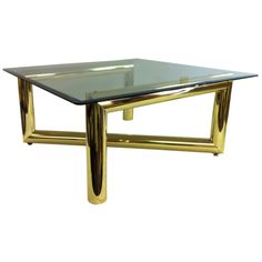 Fantastic 1970's coctail table in the manner of Karl Springer