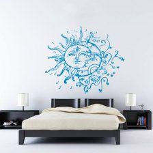 Une autre idée sur le thème lune et soleil