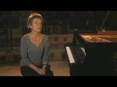 Maria João Pires acerca de Chopin Étude Piano Sonata (DG).
