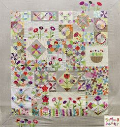 Cecile's Green Tea & Sweet Beans Quilt!