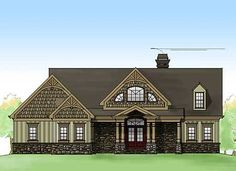 Rustic Escape Home Plan