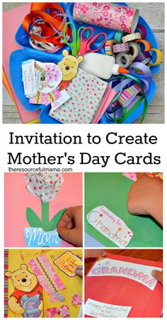 Set up a card making