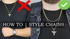 How To A Wear Chain - 5 Tips | Mens Jewelry Guide Part 3 Men Necklace, Men's Jewelry, My Outfit, Gentleman, Men's Fashion, Product Launch, Menswear, Chain, My Style