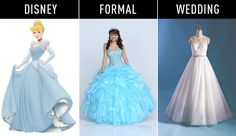18 Disney Princesses-Inspired Gowns for Every Stage of Life  - Cosmopolitan.com