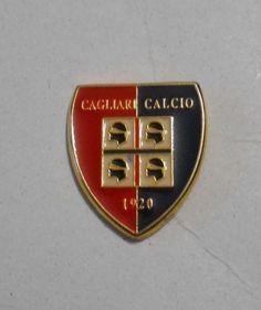 Spilla distintivo CAGLIARI calcio pin