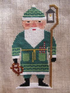 homespun collectibles designs counted santa - Pesquisa Google