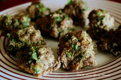 24/7 Low Carb Diner: Thai Meatballs. Paleo, gluten free and delicious!