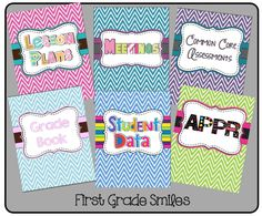 First Grade Smiles: Favorite Pins, Winners and a Freebie Classroom Freebies, School Classroom, School Fun, Classroom Secrets, School Ideas, Classroom Ideas, Teacher Binder Organization, Teacher Binder Covers, Teacher Hacks